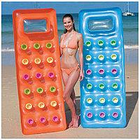 Пляжный надувной матрас 188х71 см для плавания, Bestway 43040