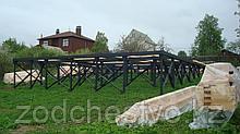 Строительство, устройство быстровозводимых фундаментов из винтовых свай для заборов, ограждений, домов, зданий