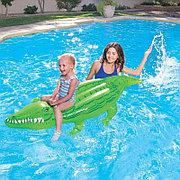 """Детский надувной плотик """"Крокодил"""" 168х89 см, Bestway 41010"""