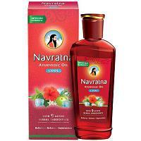 """Аюрведическое масло для волос и массажа """"Навратна"""" COOL 200 мл (Navratna oil)"""