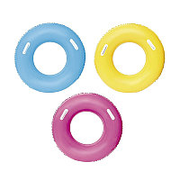 Надувной круг для плавания 91 см с ручками, Bestway 36084