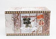 """Сувенир-шкатулка, """"Cappuccino"""", 16*9*11 см"""