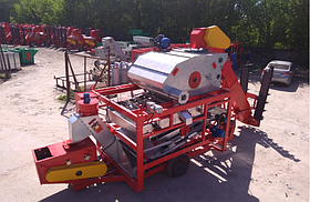 Зерноочистительный самопередвижной комплекс ЗСК – 70
