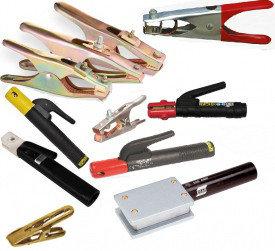 Электрододержатели/клеммы заземления/сварочный кабель