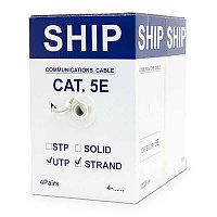 Кабель UTP Cat 5e 305м 4x2x7/0.16мм SHIP (D135S-P), фото 1