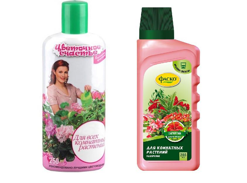 """Удобрение  для комнатных растений """"Цветочное счастье"""", 285 мл"""