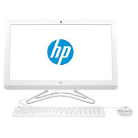 "Компьютер HP All-in-One PC  22"" ( white ) AMD A6-7310 X0W93EA"