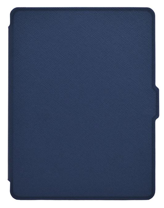 Кожаный чехол для Amazon Kindle 8 (синий)