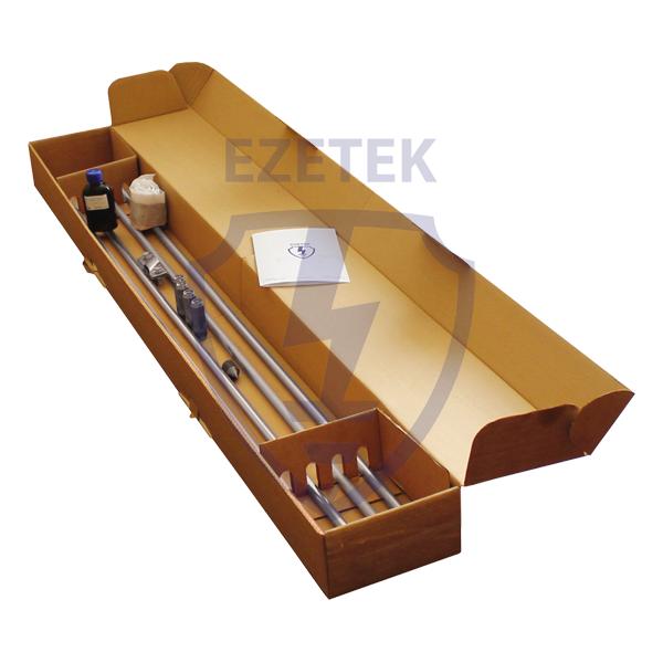 Комплект заземления омедненный EZ – 25.2 (3 х 8.4 м)
