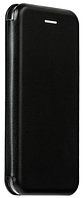Кожаный чехол Open series на iPhone 6/6S (черный)