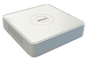 DS-H204Q 4-х канальный гибридный HD-TVI регистратор. 3Мп@15к/с (1й канал), 1080p@15к/с, 1080pLite/720p@25к/с