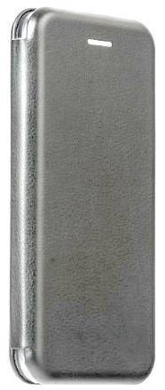Кожаный чехол Open series на iPhone X/ iPhone 10 (серый)