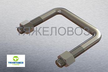 Стремянка ушка рессоры с гайками 500А-2912024