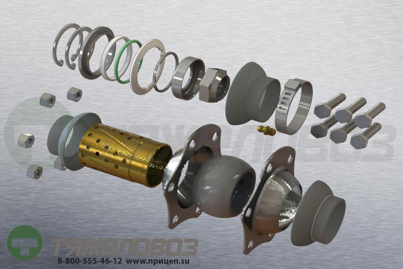 Ремкомплект тормозного вала 09.801.02.13.0 /0980102130/