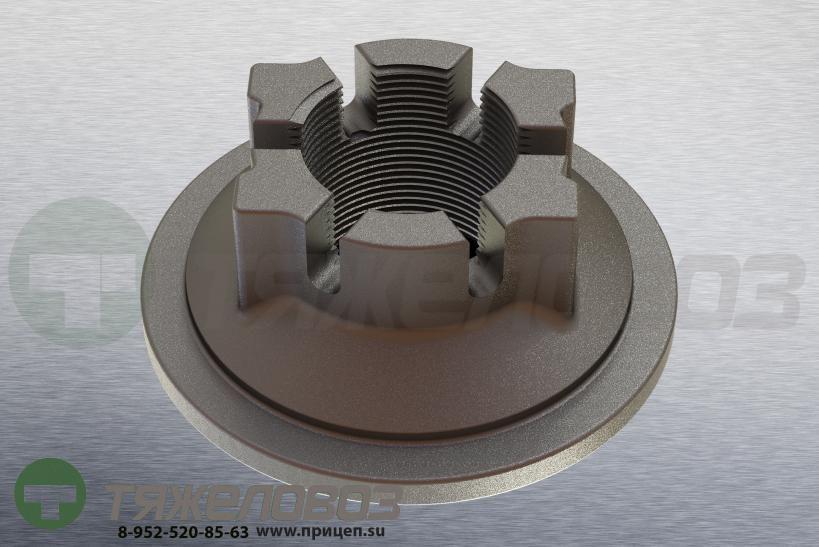Корончатая гайка ступицы ECO 10T M 52 x 2 / Ø 120 SW80 03.266.47.03.0