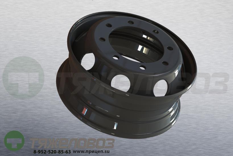 Колесо дисковое 6,75х19,5 КАМАЗ, ПАЗ, Hyundai HD 120 167.510-3101012-01