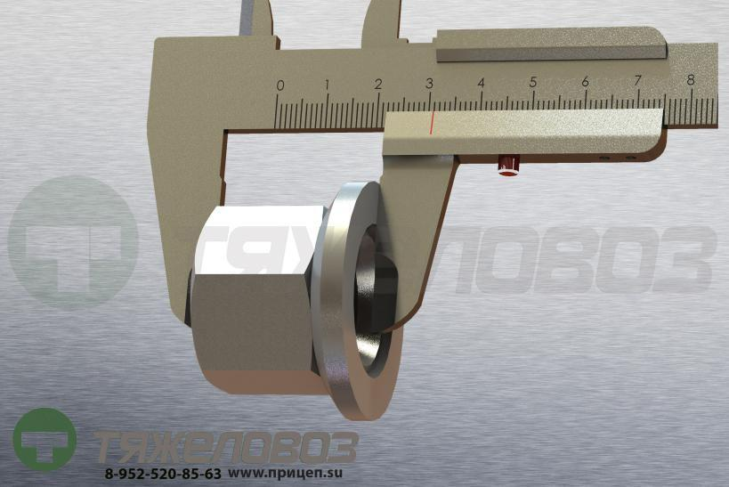 Гайка крепления колеса SAF, BPW, DAF H,М22x1,5 8241999726