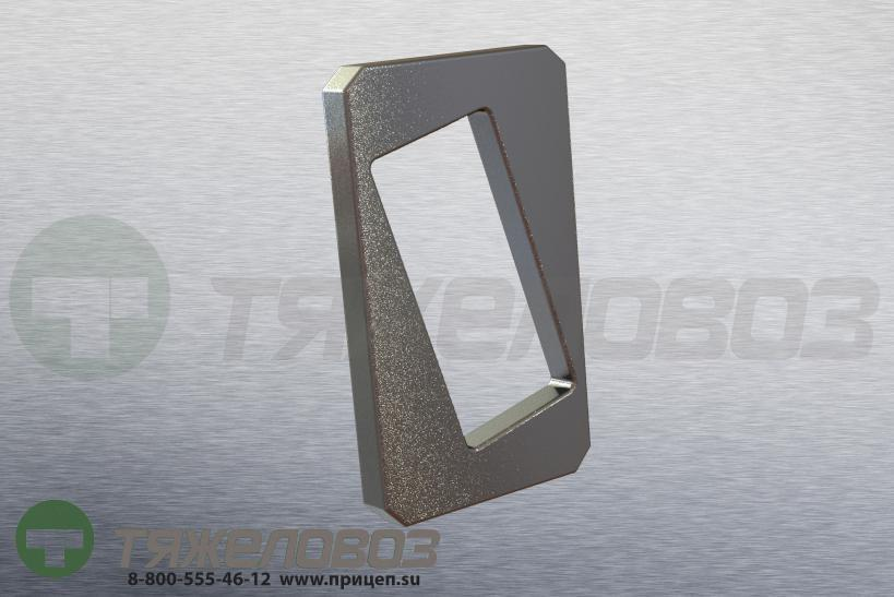 Стопорная пластина пальца рессоры 104x57.5x8 BPW 03.281.54.18.0 / 0328154180