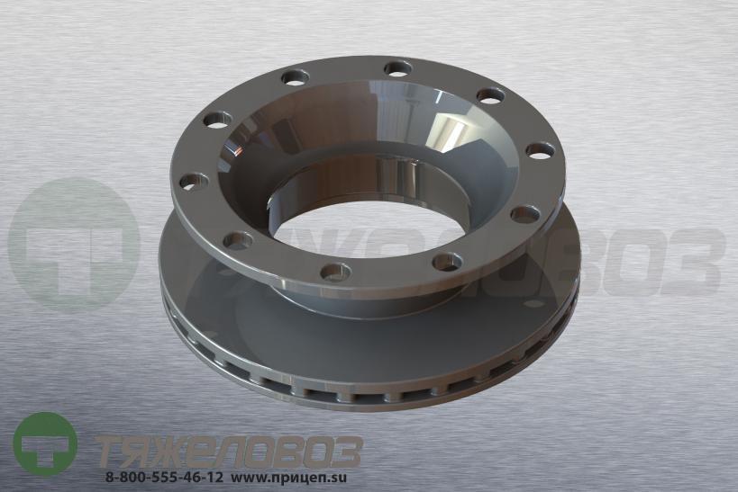 Диск тормозной SCHMITZ 430/168.5/290x45 017870