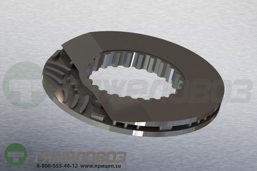 Диск тормозной вентилируемый VOLVO FH12/16 434/45x45/220 85103803