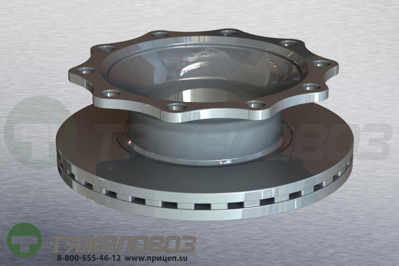 Диск тормозной SAF SKRS9022K/11222K SBK2243 430x45/160.5 4079000300