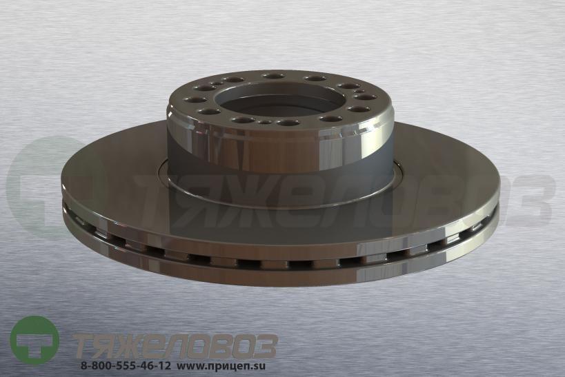 Диск тормозной SAF SKRB 9022 430/131x45/130 4079000500