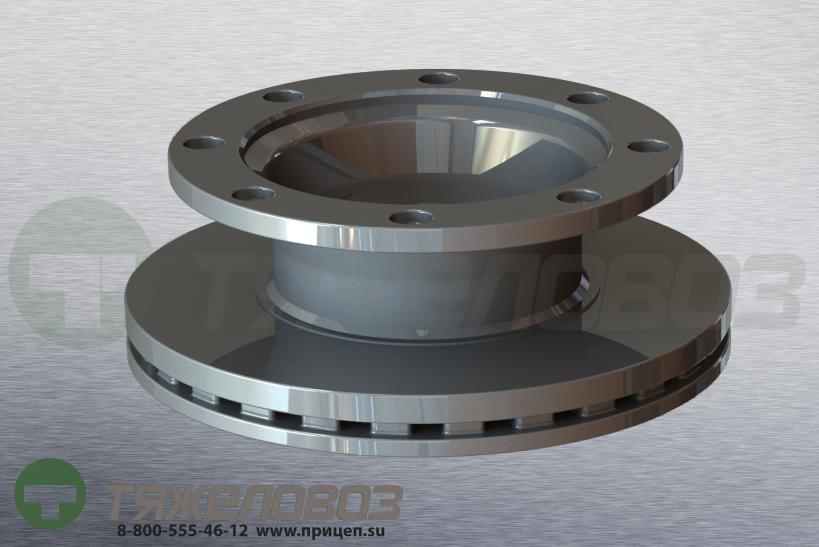 Диск тормозной ROR LM / LMC 378/150x45/225 21224263