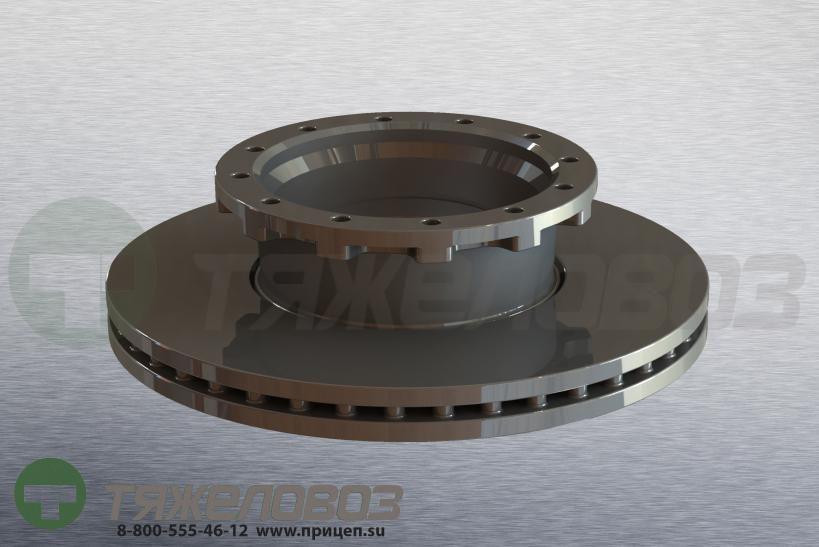 Диск тормозной IVECO 436/210x45/138 1906438
