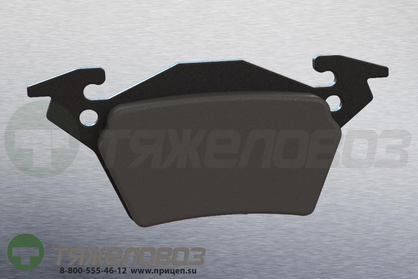 Колодки тормозные дисковые комплект MERCEDES-BENZ 0034200220 (105x53x18)