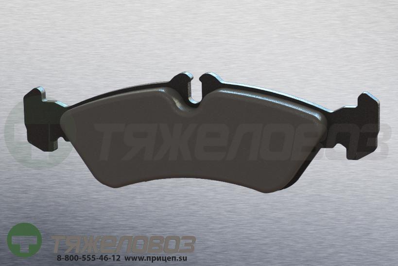 Колодки тормозные дисковые комплект MERCEDES-BENZ,VOLKSWAGEN 0024204020 (156x54x19)