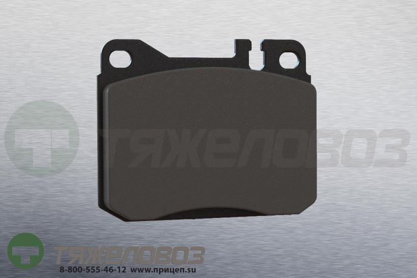 Колодки тормозные дисковые комплект MERCEDES-BENZ 0004207520 (90x74x15)