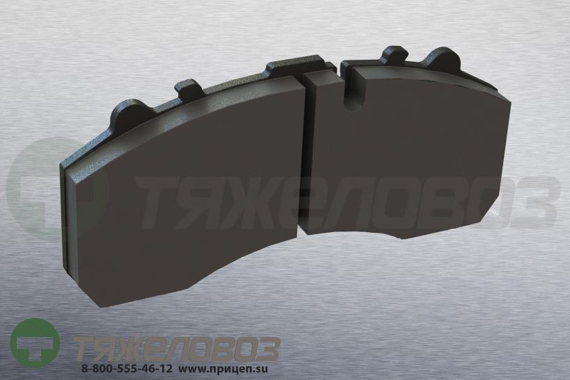 Колодки тормозные дисковые комплект FRUEHAUF M910045-02 (247x110x30)