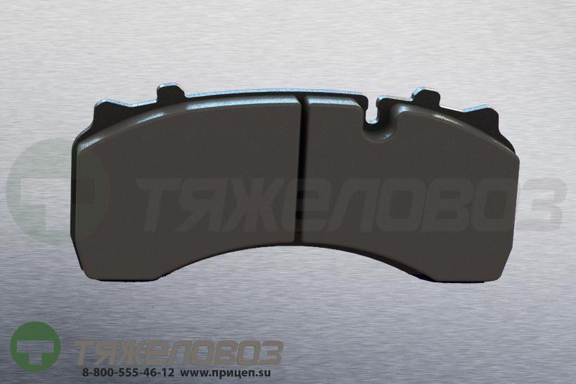 Колодки тормозные дисковые комплект DAF 1440504 (204x100x30)