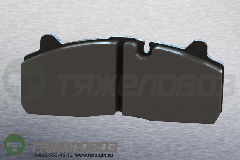 Колодки тормозные дисковые комплект ROR 9291072 (210x94x30)