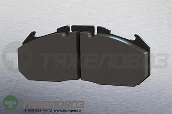 Колодки тормозные дисковые комплект MERITOR/ROR 68324558 (250x118x30)