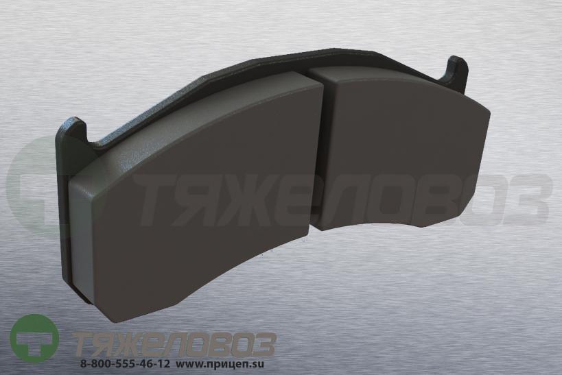 Колодки тормозные дисковые комплект VOLVO 20768101 (216x97x29)