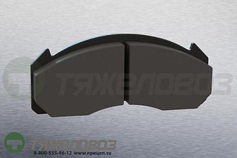 Колодки тормозные дисковые комплект VOLVO 20918891 (250x111x29)
