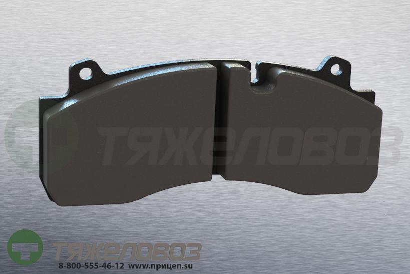 Колодки тормозные дисковые комплект VOLVO 20844903 (210x93x30)