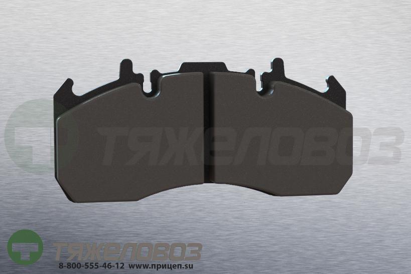 Колодки тормозные дисковые комплект VOLVO 20568712 (216x97x29)