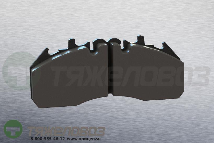 Колодки тормозные дисковые комплект VOLVO 20568711 (250x107x29)