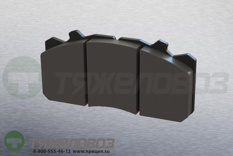 Колодки тормозные дисковые комплект SAF 3057008000 (211x93x30)