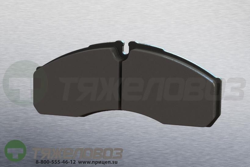 Колодки тормозные дисковые комплект IVECO 42536101 (165x68x20)