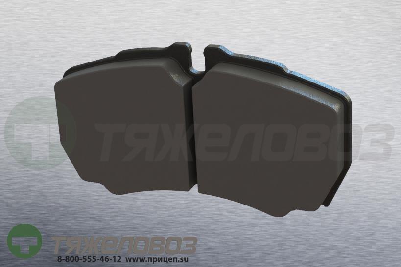Колодки тормозные дисковые комплект FORD, IVECO 42470841 (110x64x20)