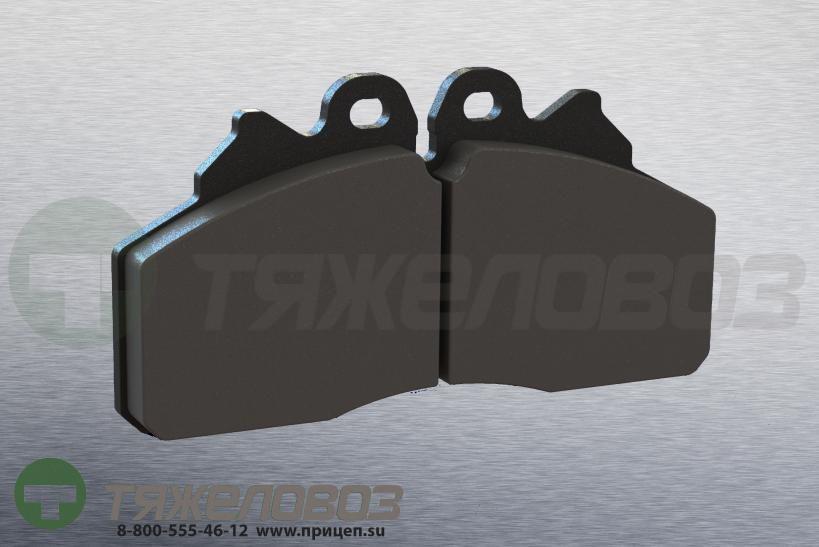 Колодки тормозные дисковые комплект IVECO 2996518 (175x95x27)