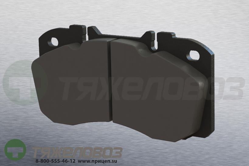 Колодки тормозные дисковые комплект IVECO 1906416 (175x85x22)