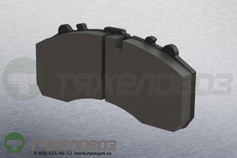 Колодки тормозные дисковые комплект IVECO 1906439 (247x110x30)