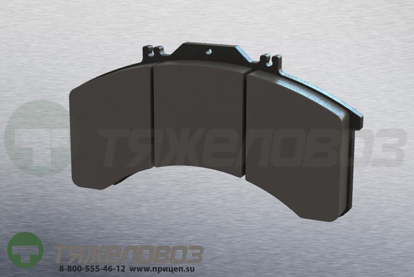 Колодки тормозные дисковые комплект IVECO 1906191 (241x125x25)