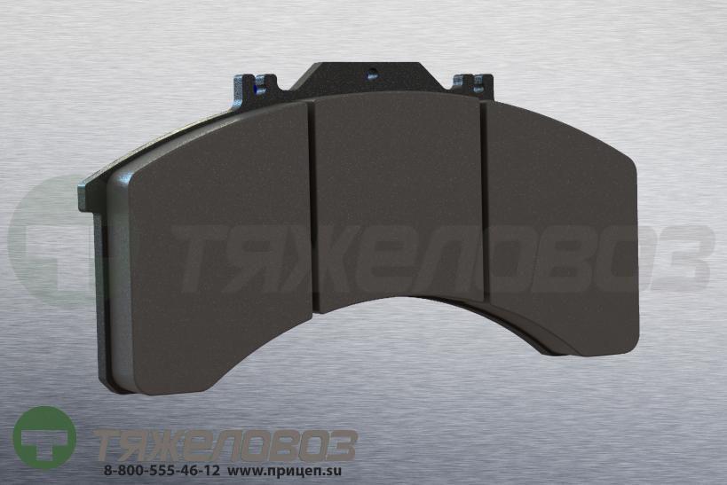Колодки тормозные дисковые комплект IVECO 1906170 (206x110x25)