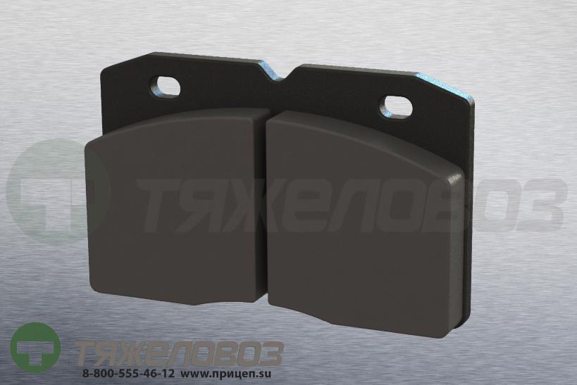 Колодки тормозные дисковые комплект IVECO 1906155 (110x73x18)
