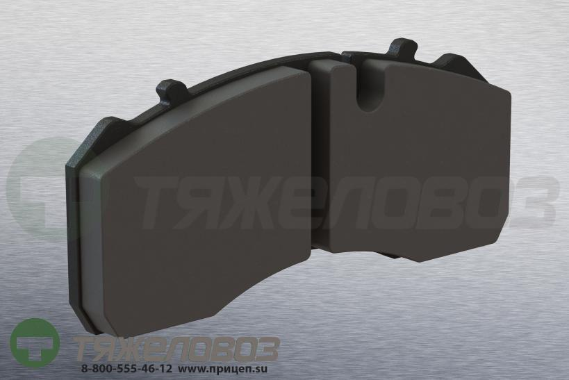 Колодки тормозные дисковые комплект  BPW 02.0312.15.00 (211х93х30)